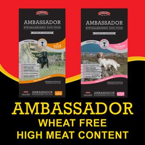 ambassador hypoallergenic dog food